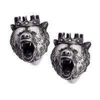 Cufflinks King Bear