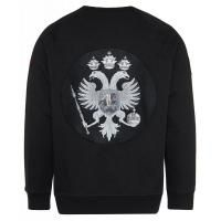"Sweatshirt without hood ""double eagle"" fleece"