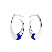"Earrings ""Accent"" blue"