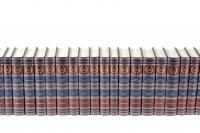 The library of Russian classics. Set of 100 volumes.