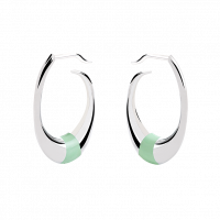 "Earrings ""Accent"" pistachio"