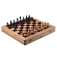 Chess invincible. Light oak - stained oak